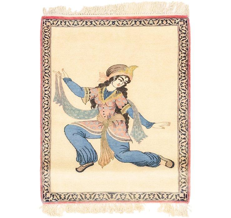 2' 3 x 3' 1 Isfahan Persian Rug