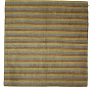 Link to 8' 1 x 8' 4 Reproduction Gabbeh Square Rug