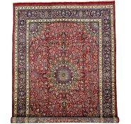Link to 9' 10 x 13' 9 Mashad Persian Rug