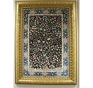 Link to 3' 3 x 4' 5 Qom Persian Rug