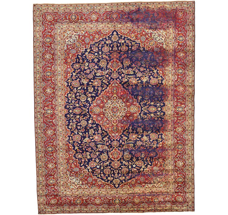 HandKnotted 9' 8 x 12' 10 Kashan Persian Rug