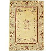 Link to 8' 6 x 11' 10 Floral Modern Ziegler Oriental Rug
