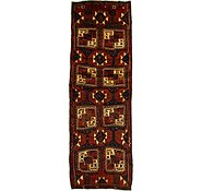 Link to 3' 11 x 11' 7 Shiraz Persian Runner Rug