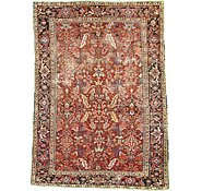 Link to 7' 3 x 9' 10 Heriz Persian Rug