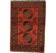 Link to 3' 4 x 4' 10 Afghan Oriental Rug