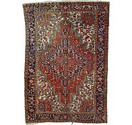 Link to 7' 7 x 11' 1 Heriz Persian Rug