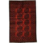 Link to 5' 1 x 7' 11 Afghan Oriental Rug