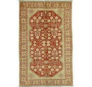 Link to 5' 8 x 8' 10 Peshawar Ziegler Oriental Rug