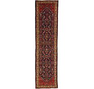 Link to 102cm x 400cm Hossainabad Persian Runner Rug