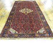Link to 4' 11 x 10' 1 Hossainabad Persian Runner Rug