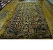 Link to 4' 4 x 10' 3 Shiraz-Lori Persian Runner Rug