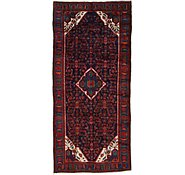 Link to 4' 6 x 9' 10 Hossainabad Persian Runner Rug