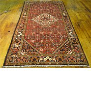 Link to 4' 11 x 9' 11 Hossainabad Persian Runner Rug