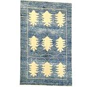 Link to 4' 6 x 7' 3 Floral Modern Ziegler Oriental Rug