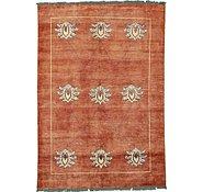 Link to 5' 6 x 7' 11 Floral Modern Ziegler Oriental Rug