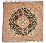 Link to 9' 7 x 9' 10 Tabriz Persian Square Rug