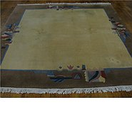 Link to 6' 5 x 6' 6 Indo Tibet Square Rug