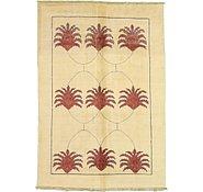 Link to 6' 5 x 9' 3 Floral Modern Ziegler Oriental Rug