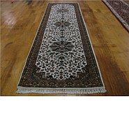 Link to 2' 10 x 9' 11 Kashan Runner Rug