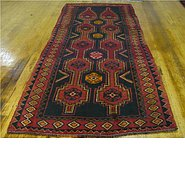 Link to 4' x 9' 1 Shiraz Persian Runner Rug