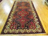 Link to 4' 1 x 9' 4 Hamedan Persian Runner Rug