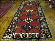 Link to 4' 1 x 11' 6 Shiraz-Lori Persian Runner Rug