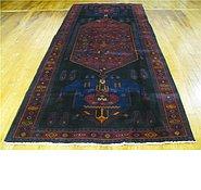 Link to 4' 9 x 11' 2 Hamedan Persian Runner Rug