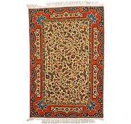 Link to 3' 4 x 5' Isfahan Persian Rug