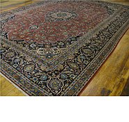 Link to 9' 11 x 13' 7 Kashan Persian Rug