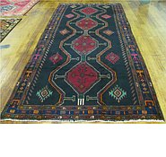 Link to 4' 11 x 10' 8 Meshkin Persian Runner Rug