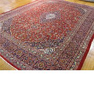 Link to 9' 7 x 12' 4 Mashad Persian Rug