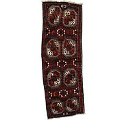 Link to 3' 11 x 11' 2 Shiraz Persian Runner Rug