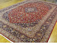 Link to 9' 8 x 13' 9 Kashan Persian Rug