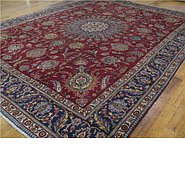 Link to 9' 11 x 13' 3 Tabriz Persian Rug