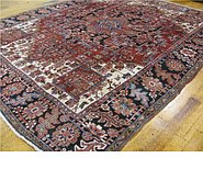 Link to 9' x 11' 8 Heriz Persian Rug