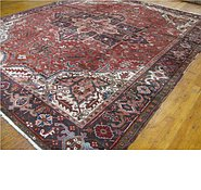 Link to 9' 3 x 11' 5 Heriz Persian Rug