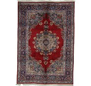 Link to 6' 7 x 9' 7 Mashad Persian Rug