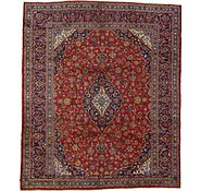 Link to 9' 9 x 11' 4 Kashan Persian Rug