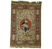 Link to 4' 8 x 6' 6 Sirjan Persian Rug