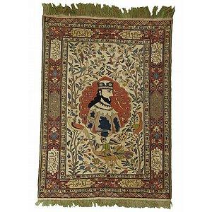 4' 8 x 6' 6 Sirjan Persian Rug