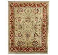 Link to 6' 6 x 8' 5 Peshawar Ziegler Oriental Rug