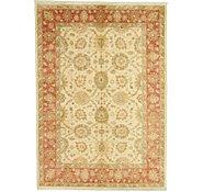 Link to 5' 8 x 8' 1 Peshawar Ziegler Oriental Rug