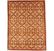 Link to 6' 7 x 8' 7 Floral Modern Ziegler Oriental Rug