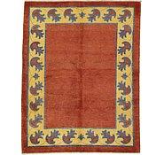 Link to 4' 11 x 6' 5 Floral Modern Ziegler Oriental Rug