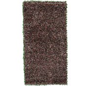 Link to 2' 5 x 4' 8 Solid Shag Rug