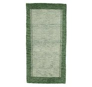 Link to 2' 4 x 4' 8 Indo Gabbeh Rug