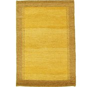 Link to 4' 1 x 5' 11 Indo Gabbeh Rug