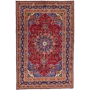 6' 8 x 10' 2 Mashad Persian Rug