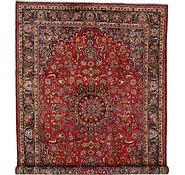 Link to 9' 7 x 13' 2 Mashad Persian Rug
