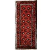 Link to 4' 7 x 10' 6 Shiraz Persian Runner Rug